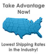 Lowest Shipping Across US