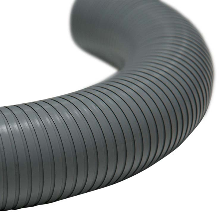 6 In Flexible Duct Hose : Quot pvc flex self supporting semi rigid duct ducting