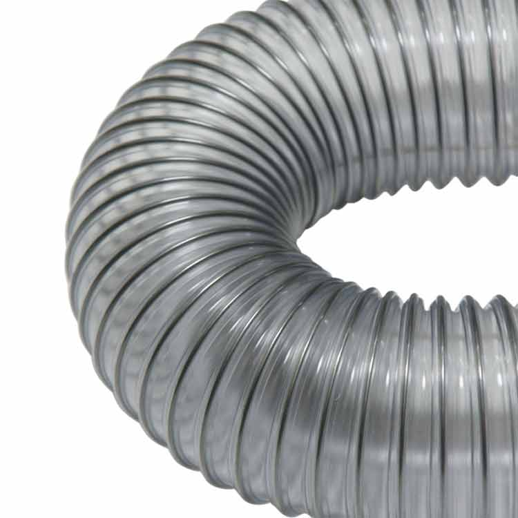 Quot pvc flexduct medium duty flexible hose ducting