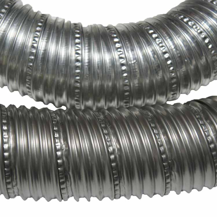 Quot ss flex stainless steel hose ducting