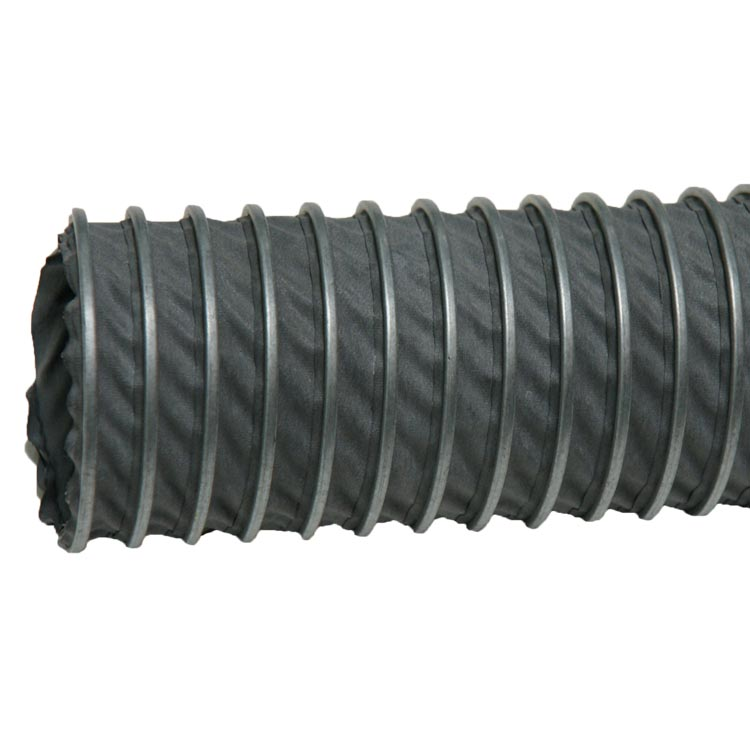 Quot spiral lock hypalon high temperature duct